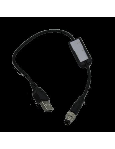 Chargeur batterie déportée