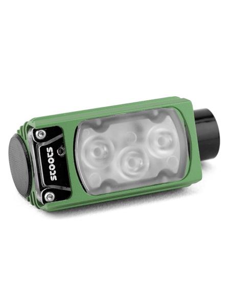 Lampe frontale STOOTS KISKA2 Trail Vert Fonce