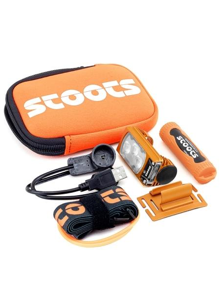 Lampe frontale STOOTS KISKA2 Trail Accessoires Orange